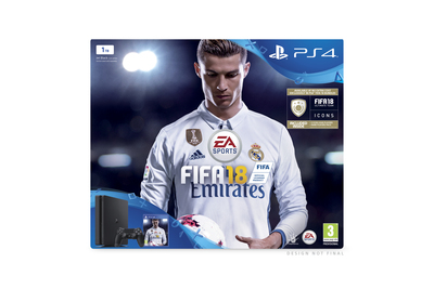 SONY ENTERTAINMENT PS41TBE+FIFA18+PSP14DAY  Default image