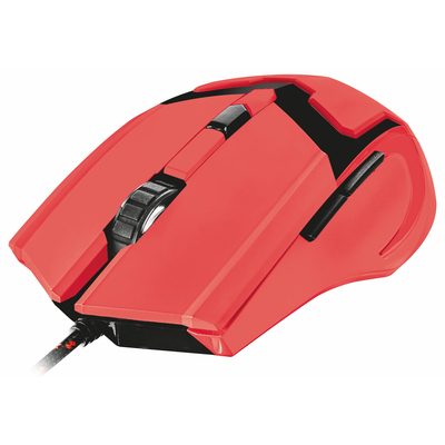 TRUST GXT 101-SB Spectra Gaming Mouse - Red  Default image