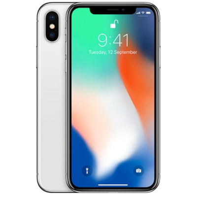 APPLE iPhone X 256GB Silver  Default image
