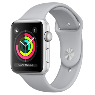 APPLE Watch Series 3 GPS, 42mm Silver Aluminium Case wit  Default image