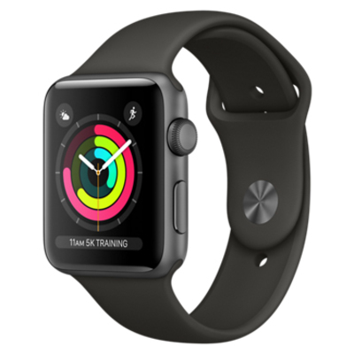 APPLE Watch Series 3 GPS, 42mm Space Grey Aluminium Case  Default image