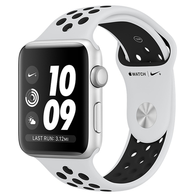 APPLE Watch Nike+ Series 3 38mm Cassa alluminio argento  Default image