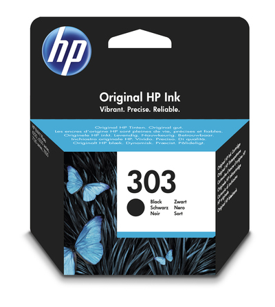 HP CARTUCCIA HP 303, BK  Default image