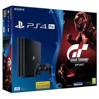 SONY ENTERTAINMENT PS4 PRO + GT SPORT  Default image