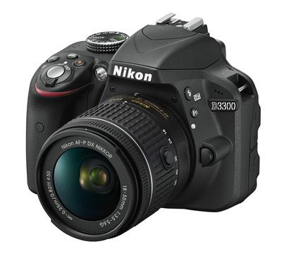 NIKON D3300 18/55 + 70/300+Lexar SD8gb  Default image