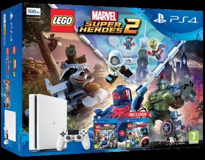 SONY ENTERTAINMENT PS4 500+LEGO MARVEL  Default image