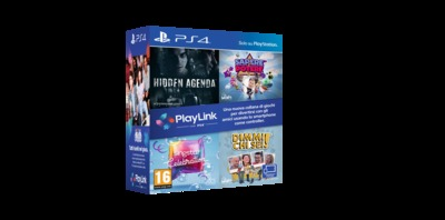 SONY ENTERTAINMENT COFANETTO4GIOCHI PLAYLINK  Default image