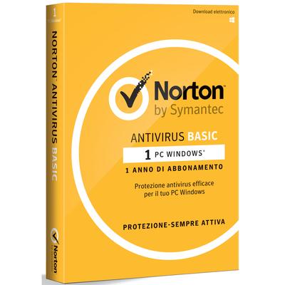 SYMANTEC Norton AntiVirus Basic - 1 PC  Default image