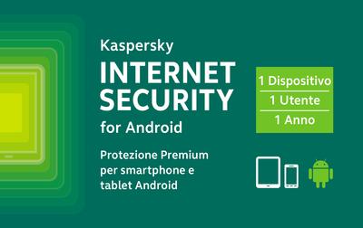 KASPERSKY KASPERSKY INTERNET SECURITY FOR ANDROID CARD  Default image