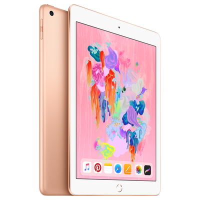 APPLE iPad Wi-Fi + Cellular 128GB - Gold / MRM22TY/A  Default image
