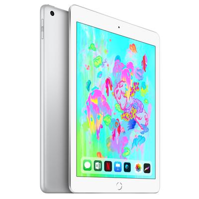 APPLE iPad Wi-Fi + Cellular 128GB - Silver / MR732TY/A  Default image