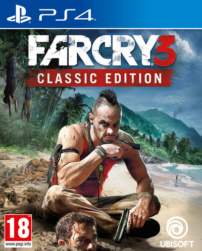 UBI SOFT FAR CRY 3 CLASSIC EDITION PS4  Default image