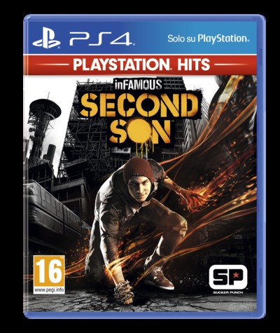 SONY ENTERTAINMENT INFAMOUS SECOND SON (PS4) HITS/ITA  Default image