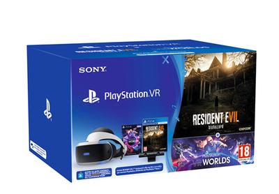 SONY ENTERTAINMENT PSVR+CAM+VR WORLDS(VCH)+ RESIDENT EVIL VII  Default image