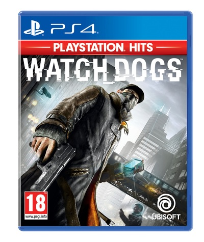 UBI SOFT WATCH DOGS PS4 HITS  Default image