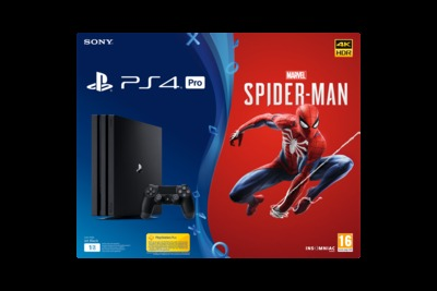 SONY ENTERTAINMENT MARVEL'S SPIDER-MAN + PS4 PRO  Default image