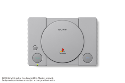 SONY ENTERTAINMENT PLAYSTATION®CLASSIC  Default image