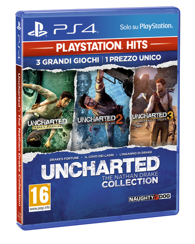 SONY ENTERTAINMENT UNCHARTED NATHAN DRAKE COLLECTION (PS4) PS HITS  Default image