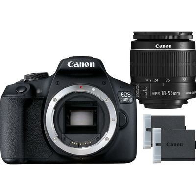 CANON EOS 2000D + EF-S 18-55 MM IS II BATTERY KIT  Default image