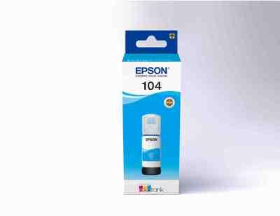 EPSON 104  FLACONE DI INCHIOSTRO ECOTANK T00P2 CIANO  Default image