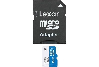 LEXAR MICRO SD HC 16GB 300X  Default image