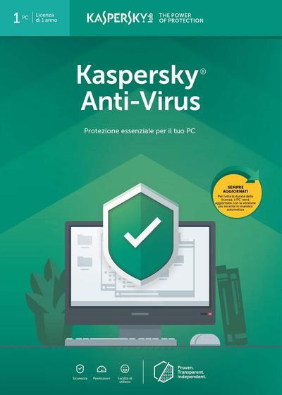 KASPERSKY ANTIVIRUS 2019 1 USER  Default image