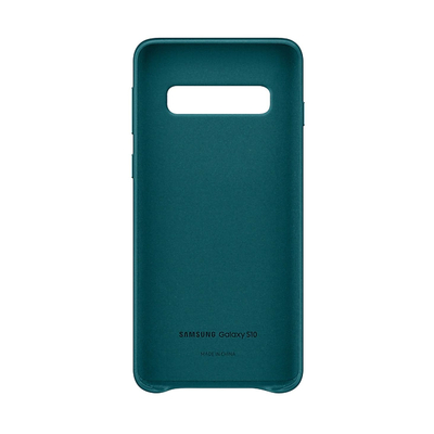 SAMSUNG LEATHER COVER GREEN GALAXY S10  Default image