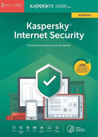 KASPERSKY Internet Security 2019 3PC UPG  Default image