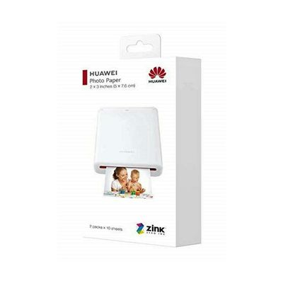 HUAWEI ZINK STICKER PRINTER PAPER CV80 WHITE  Default image