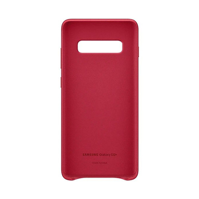 SAMSUNG LEATHER COVER RED GALAXY S10+  Default image