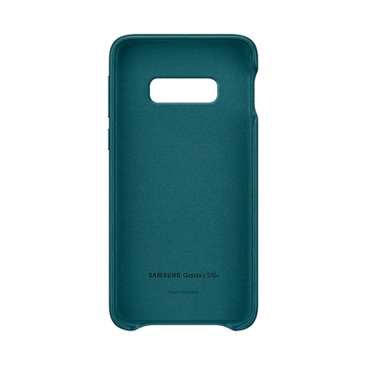 SAMSUNG LEATHER COVER GREEN GALAXY S10 E  Default image