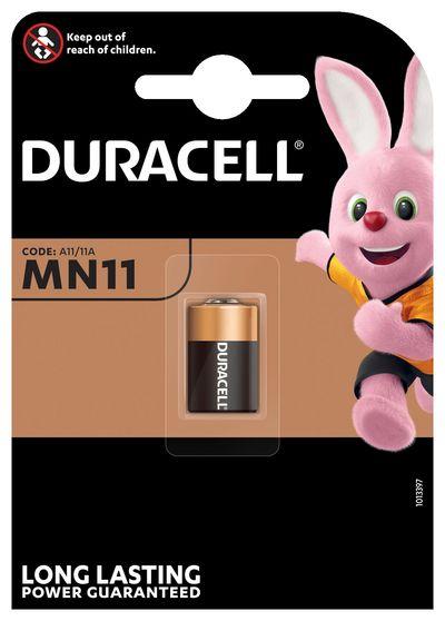 DURACELL MN11 BATTERIA ALCALINA 6V X1 A11 11A  Default image