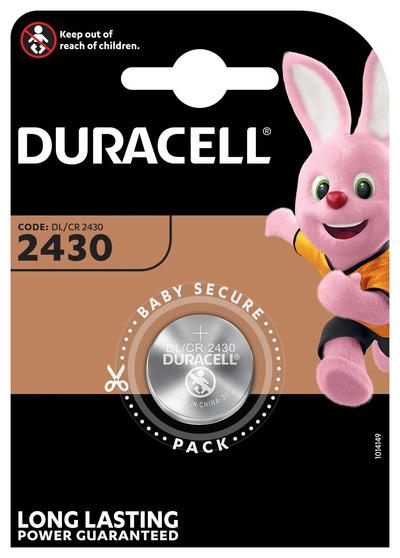 DURACELL 2430 BATTERIA BOTTONE LITIO 3V X1 DL2430 CR2430  Default image