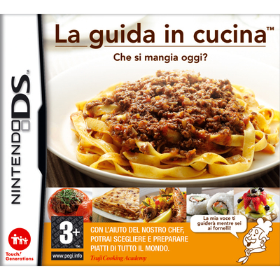 NINTENDO La guida in cucina: Che si mangia oggi?  Default image