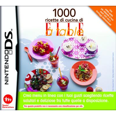 NINTENDO 1000 ricette di cucina di ELLE à table  Default image