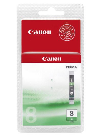 CANON 0627B001 CLI-8 GREEN  Default image
