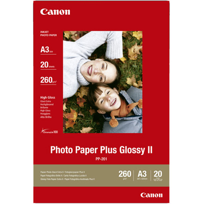 CANON Photo Paper Plus Glossy II (PP-201)  Default image