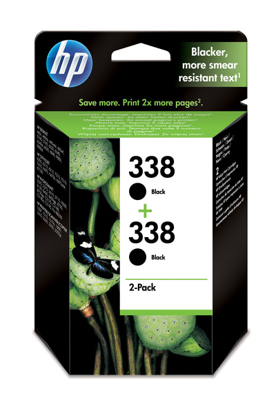 HP CB331EE -  TWO PACK  338, NERO  Default image