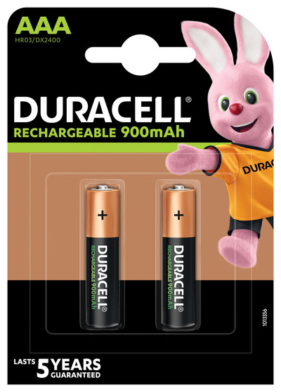 DURACELL RICARICABILI AAA 900MAH PRERICARICATE MINISTILO X2  Default image