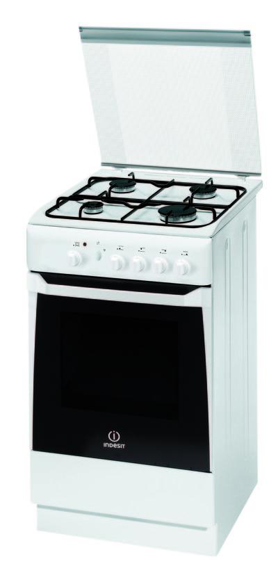 Cucine indesit kn1g2sw - Cucine a gas indesit ...