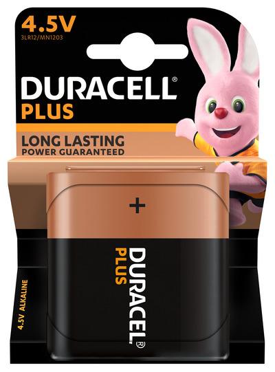 DURACELL PLUS 4.5V BATTERIA ALCALINA X1 4.5V 3LR12 MN1203  Default image