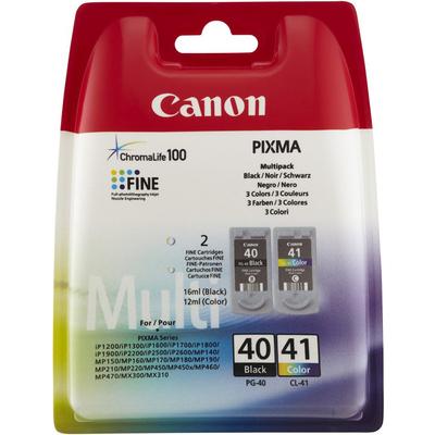 CANON PG-40 BK/CL-41 C/M/Y  Default image