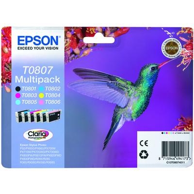 EPSON T0807 Colibrì  Default image
