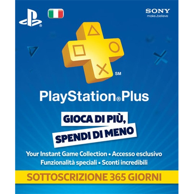 SONY ENTERTAINMENT Playstation Plus Card 365gg  Default image