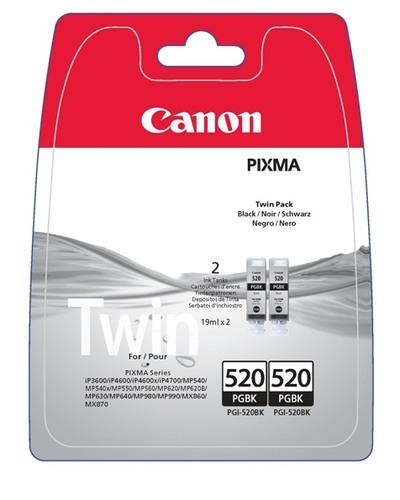 "CANON PGI-520 BK  ""TWINPACK""  Default image"