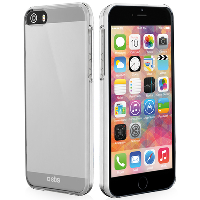 SBS ACCESSORI TELEFONICI TE0PCC50T Cover Crystal per iPhone 5/5S  Default image