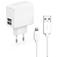 SBS ACCESSORI TELEFONICI Kit caricabatterie USB con cavo Lightning  Default thumbnail