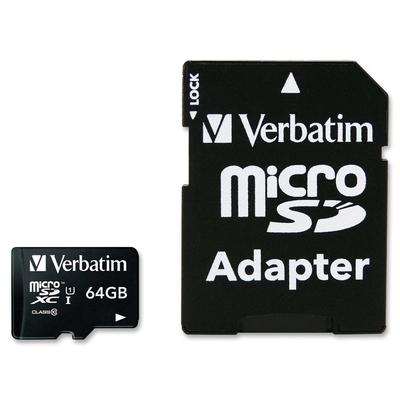 VERBATIM 44084 - microSDXC Classe 10 64GB con adattatore  Default image