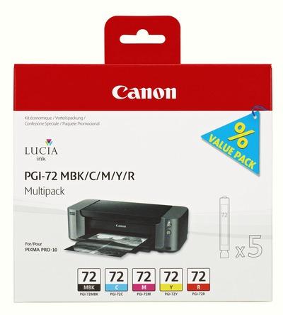 CANON PGI-72 MBK/C/M/Y/R MULTI  Default image