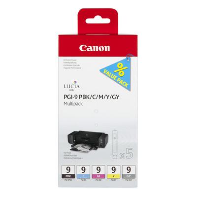 CANON PGI-9 PBK/C/M/Y/GY MULTIP  Default image